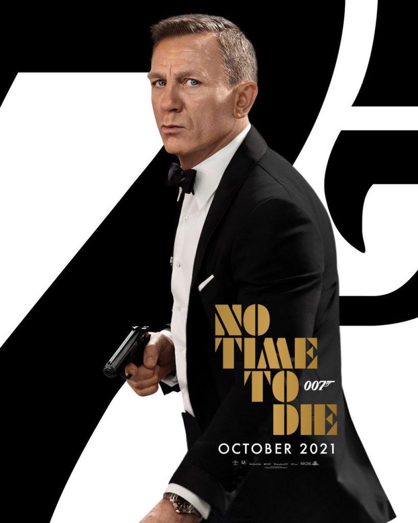 Plakat do filmu No time to die